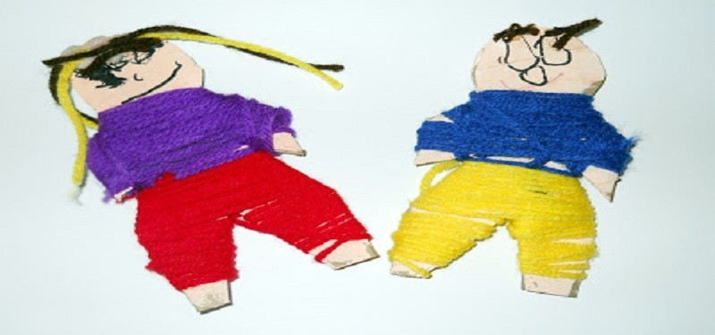 Art Around the World- Guatemalan Worry Dolls