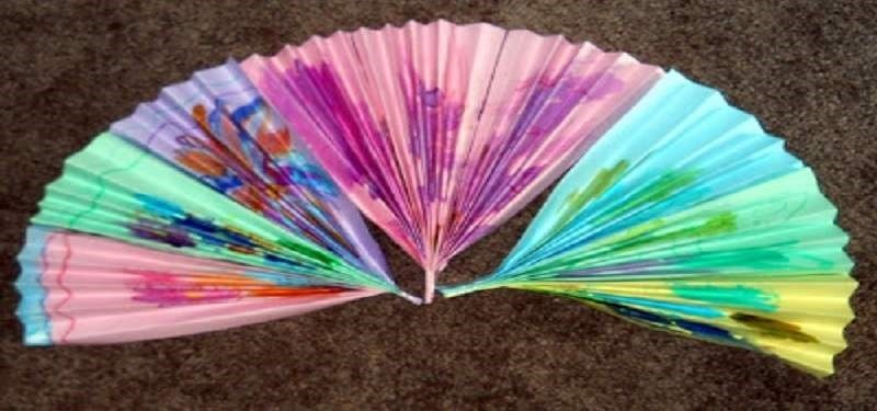 Art Around the World- Japanese Hand Fans