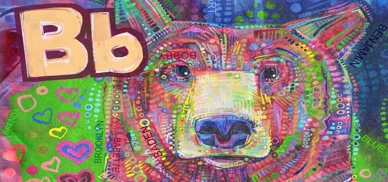 Preschool Animal Alphabet Art Book