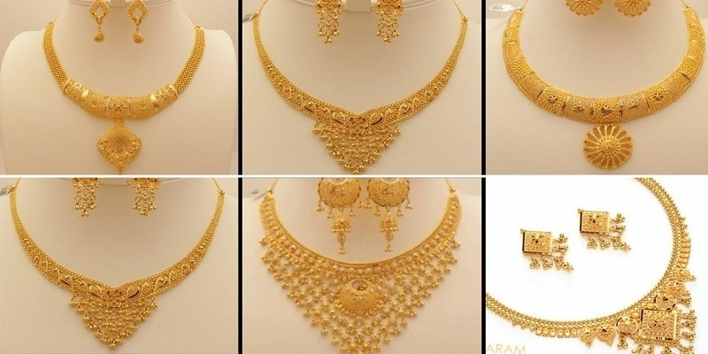 Trendy Gold Necklace Designs